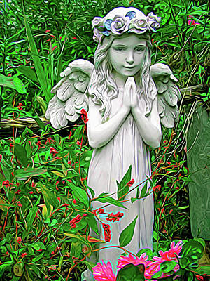 Photograph - Expressionalism Angel by Aimee L Maher Photography and Art Visit ALMGallerydotcom