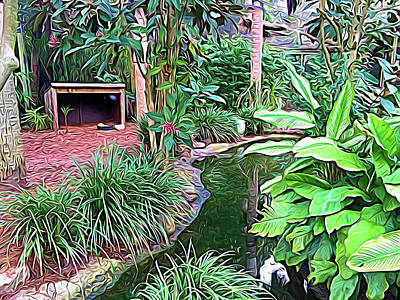 Photograph - Expressionalism Beautiful Garden  by Aimee L Maher Photography and Art Visit ALMGallerydotcom