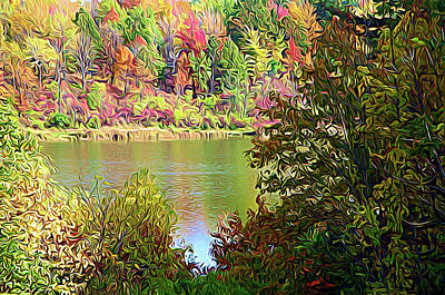 Photograph - Expressionalism Devils Bathtub by Aimee L Maher Photography and Art Visit ALMGallerydotcom