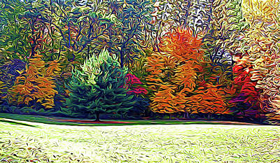 Photograph - Expressionalism Fantastic Fall by Aimee L Maher Photography and Art Visit ALMGallerydotcom