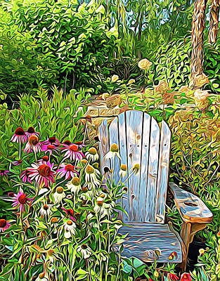 Photograph - Expressionalism Garden Of Paradise by Aimee L Maher Photography and Art Visit ALMGallerydotcom