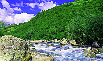 Photograph - Expressionalism Lush Green by Aimee L Maher ALM GALLERY