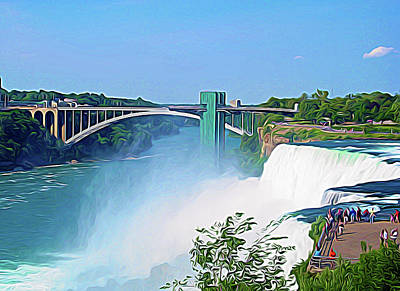 Photograph - Expressionalism Niagara Falls 11 by Aimee L Maher Photography and Art Visit ALMGallerydotcom