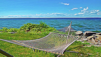 Photograph - Expressionalism Perfect Vacation Spot by Aimee L Maher Photography and Art Visit ALMGallerydotcom