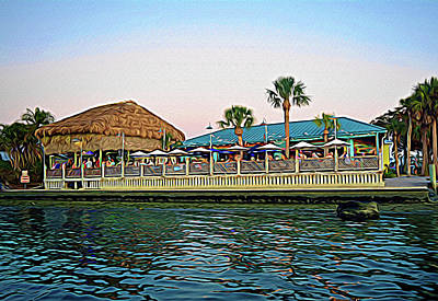 Photograph - Expressionalism Sams On The Gulf by Aimee L Maher Photography and Art Visit ALMGallerydotcom