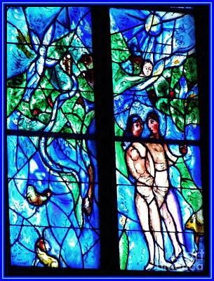 Photograph - Expulsion From Paradise By Chagall  by Sarah Loft