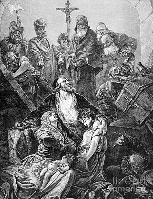 Antisemitism Photograph - Expulsion Of Jews, 1492 by Granger