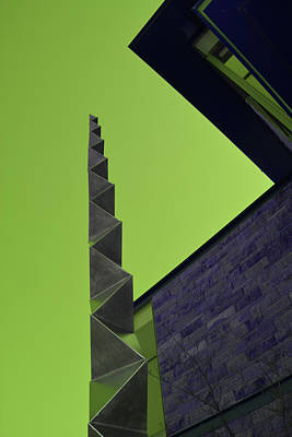 Photograph - Exterior Angles by Mike Martin
