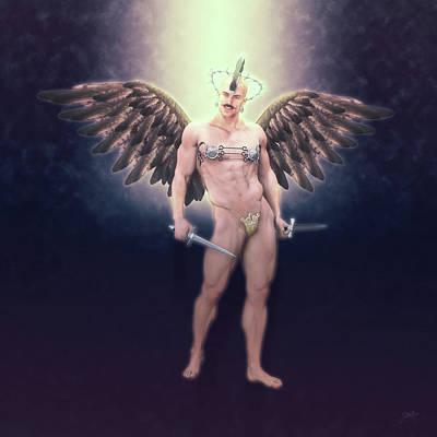 Digital Art - Exterminator Of Sodom by Joaquin Abella