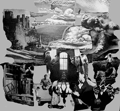 External Forces Internal Implosions Art Print by Lee M Plate