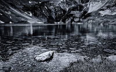 Photograph - Extinct Volcano Lake by Linda Unger