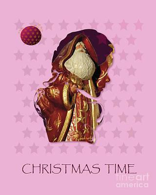 Longines Painting - Extraordinary Santa Claus M7 by Johannes Murat