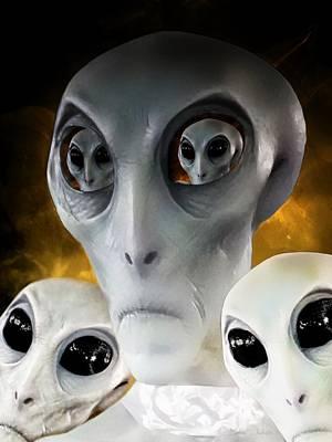 Extraterrestrial Insight Art Print