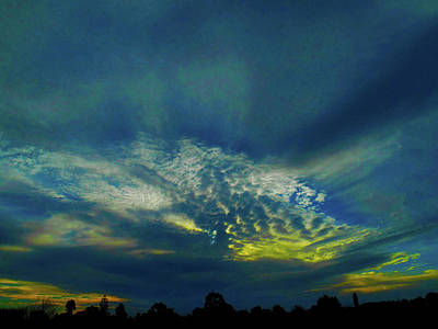 Photograph - Extraterrestrial Sunset by Mark Blauhoefer