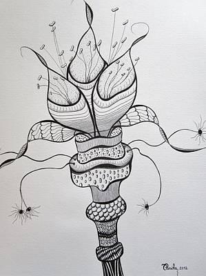 Drawing - Extravaganza by Rosita Larsson