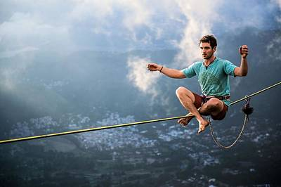Extreme Sport Photograph - Extreme by Mariel Mcmeeking