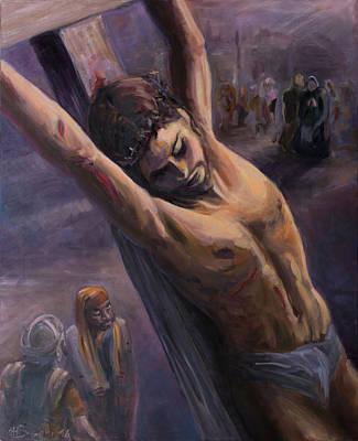 Extreme Sacrifice Art Print by Marco Busoni