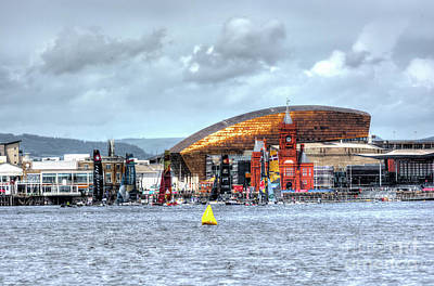 Photograph - Extreme Sailing Cardiff 2016 by Steve Purnell