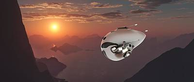 Mt Rushmore Royalty Free Images - Extremely detailed and realistic high resolution 3d illustration of a futuristic looking drone. Royalty-Free Image by Sasa Kadrijevic