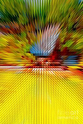 Photograph - Extrusion Abstract # 5 by Marcia Lee Jones
