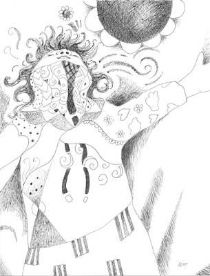 Exuberance Art Print by Helena Tiainen