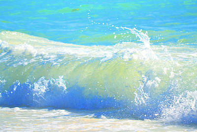 Catch A Wave Photograph - Exuberance by Mary Chant