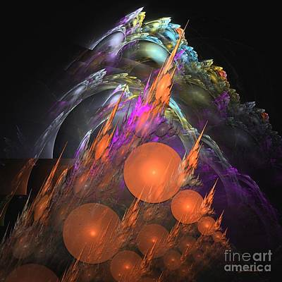 Digital Art - Exuberant - Abstract Art by Sipo Liimatainen