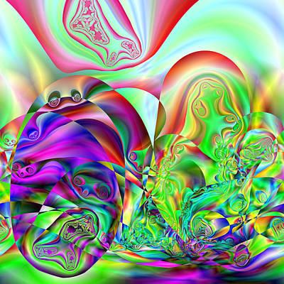 Digital Art - Exubercled by Andrew Kotlinski