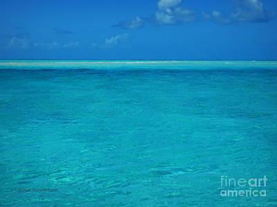 Photograph - Exuma Blue Hues by Lainie Wrightson
