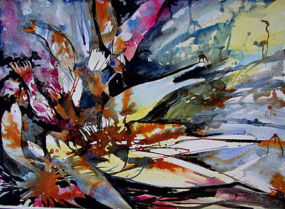 Painting - Exxon Impact I by Laurie Salmela