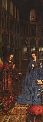 Eyck Jan Van The Annunciation C Art Print