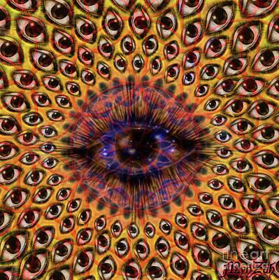 Digital Art - Eye Am by Mynzah