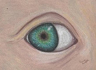 Pastel - Eye by Brenda Bonfield