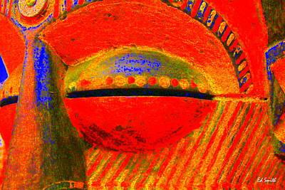 Eye C U Art Print