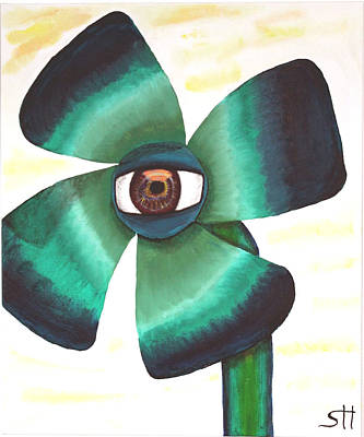 Painting - Eye Clover by Oneroses