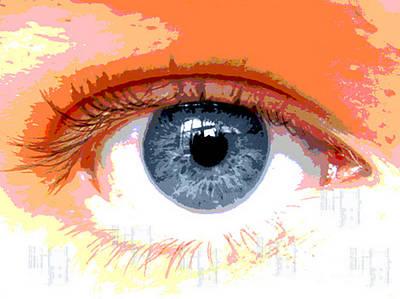 Eye Cu 2 Art Print