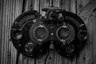 Steam Punk Photograph - Eye Exam by Garry Gay