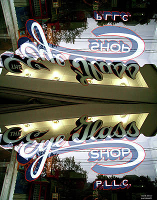 Photograph - Eye Glass Shop by Mark Alesse