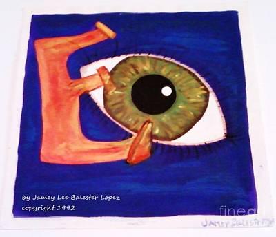 Keith Richards - Eye by Jamey Balester