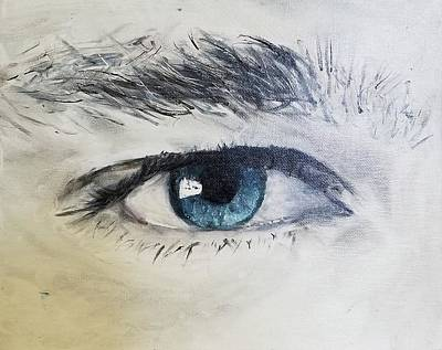 Painting - Eye by Jessie Henry