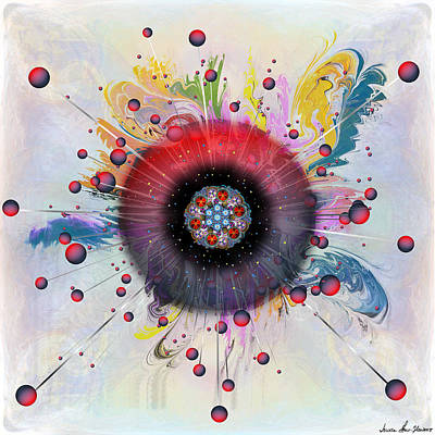 Digital Art - Eye Know Light by Iowan Stone-Flowers