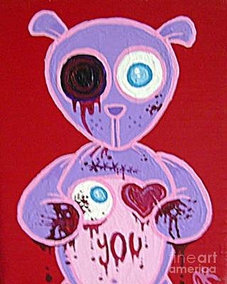 Painting - Eye Love You by Dan Keough