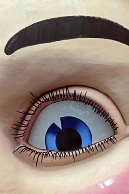 Photograph - Eye No. 4-1 by Sandy Taylor