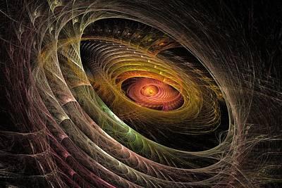 Gaia Digital Art - Eye Of Gaia by Doug Morgan
