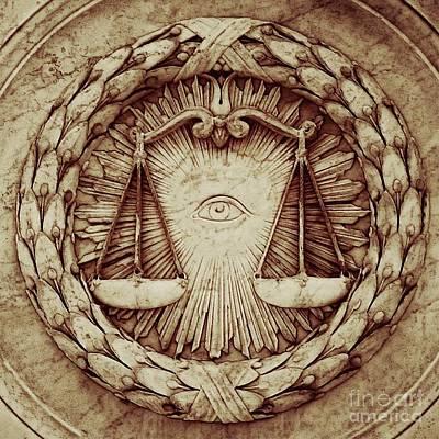 Brotherhood Photograph - Eye Of God By Raphael Terra by Raphael Terra