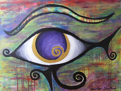 eye of horus art