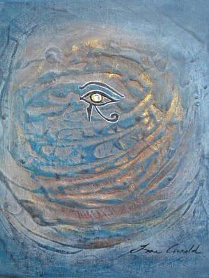 Eye Of Horus Original by Tara Arnold