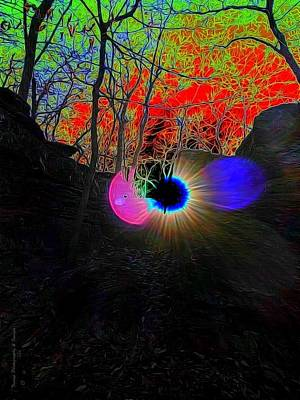 Eye Of Nature Art Print