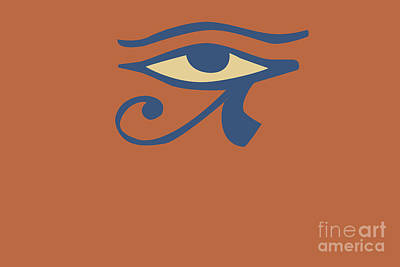 Digital Art -  Eye Of Ra by Chitra Helkar
