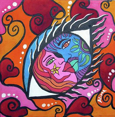 Painting - Eye Of The Beholder by Alima Newton